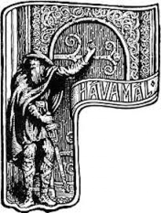 'HAVAMAL', an anthology of sayings that outline the outlook of all classes of Norse society