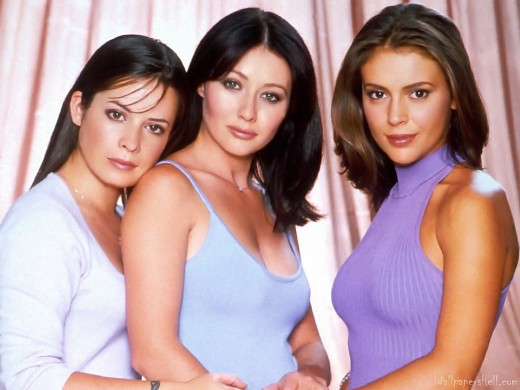 Piper, Prue, and Phoebe