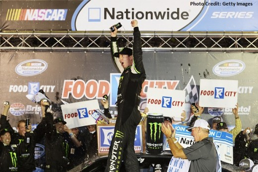 Busch came into Saturday night's race with a chance to pull a weekend sweep