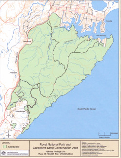 Australian Royal National Park - a Call for World Heritage Listing