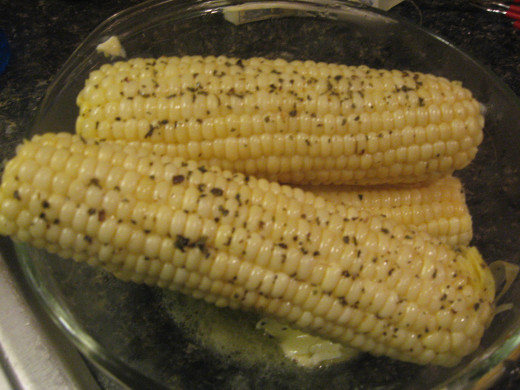 Fresh corn is great with practically all pork chop recipes!