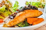 Salmon is a good source of omega 3