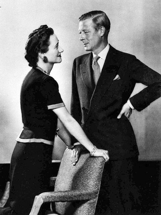 Mrs Wallis Simpson and Prince Edward