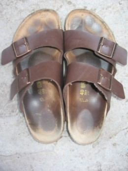 My well broken in Arizona Birkenstocks