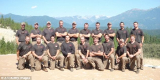 """Nineteen """"hotshot"""" firefighters, an elite group of wildfire fighters were killed in Arizona."""