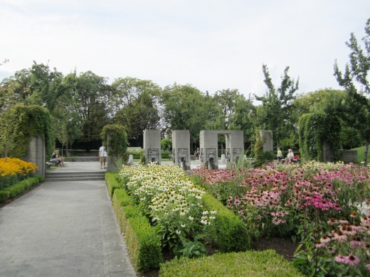 The Italian Gardens at the PNE