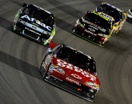 Stewart and Edwards engaged in NASCAR's closest point battle ever in 2011