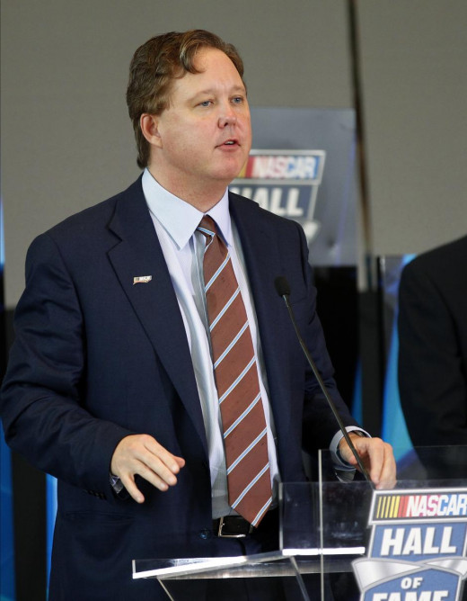 Brian France leads a family that isn't known for backing down or compromising
