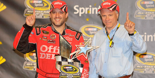 Gene Haas and Tony Stewart have already won one title together