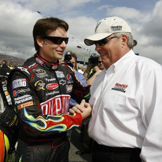 Rick Hendrick has won championships with multiple drivers and his team is a dominant force in NASCAR