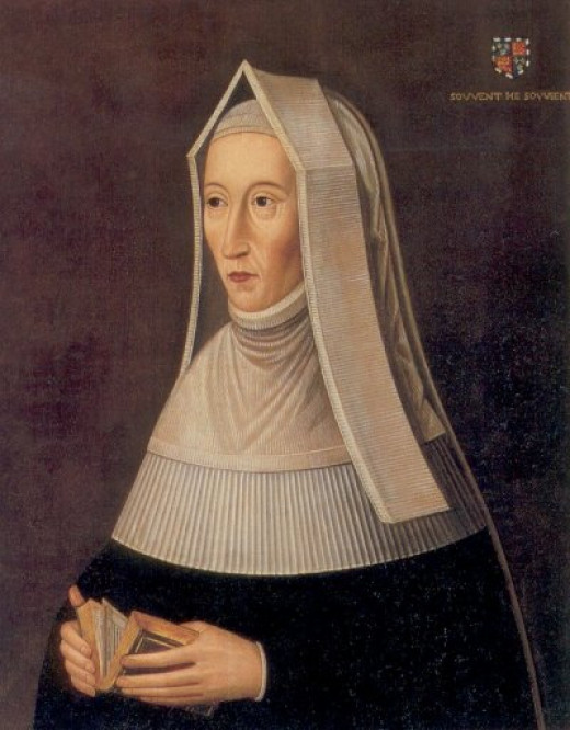 A painting traditionally ascribed to being Margaret Beaufort