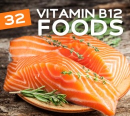 Salmon is a good choice to eat to take in vitamin B12 naturally.