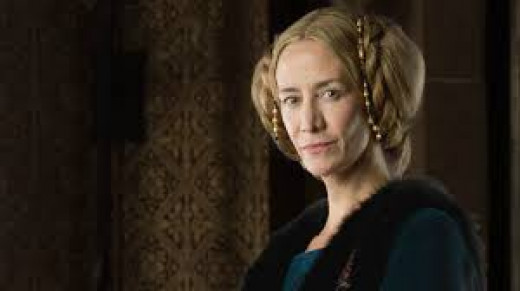 Jaquetta portrayed on the BBC series the White Queen