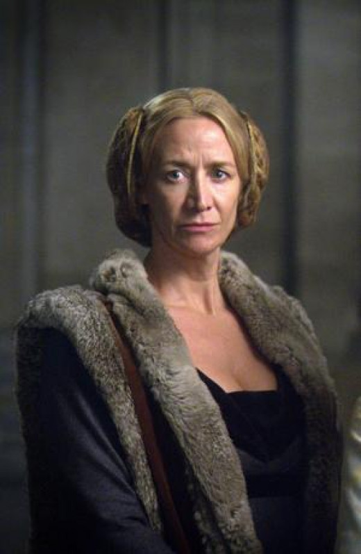 Jaquetta as she was portrayed in the White Queen bbc