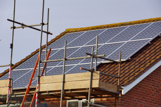 Green Buildings Can Incorporate Many Energy-Saving Features Like Solar Panels
