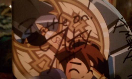 Adam Bohn's autograph
