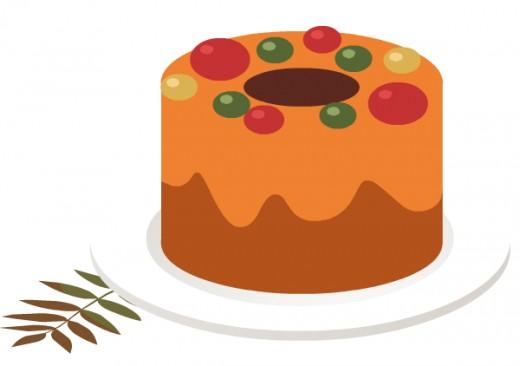 Fruitcake clip art