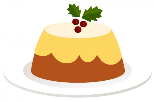 Free food clip art: Christmas pudding clip art