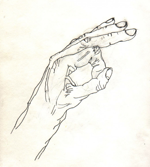 After Drawing, Hand