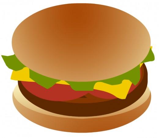Free hamburger clip art