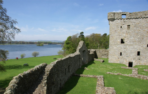 It's possible that Mary Queen of Scots does haunt Lochleven Castle, due to the trauma she suffered here.