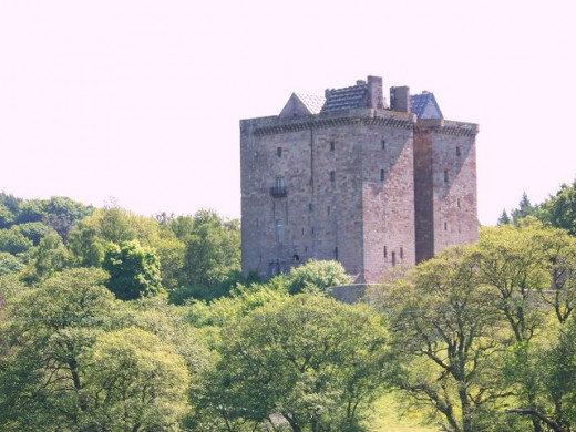 Borthwick Castle - Queen Mary is said to have dressed as a page boy to escape from the castle. It was also a location that she knew well, since she had been a guest here many times.