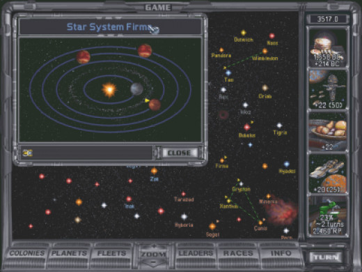 Master of Orion series is one of the best among the available Space Strategy Games.