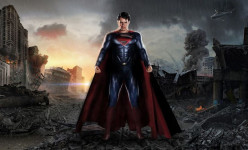 Does Superman help rebuild the buildings he destroys...? Or...