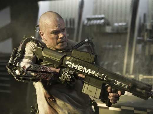 Matt Damon delivered another great performance as a former criminal turned future revolutionary.