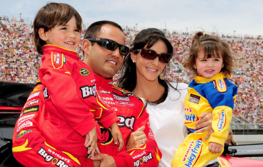 Juan Pablo Montoya would also be a possible choice to replace Busch