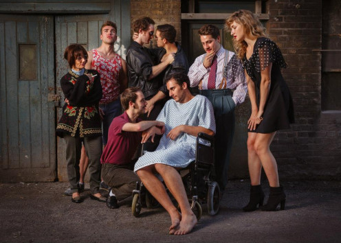 William M. Hoffman's touching story 'As Is' showing at the Finborough Theatre must end on 31st August 2013.  Directed by award-winning director Andrew Keates for Arion Productions, don't miss this powerful, moving production.