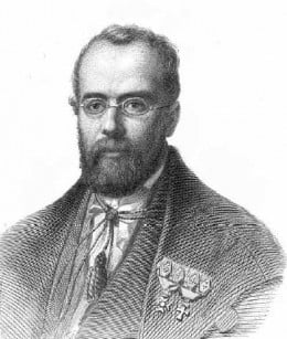 Charles Morren, the Belgian botanist who first described the natural pollination in Vanilla sp. in 1836.