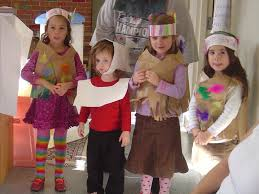 Your kids can have tons of fun dressing up as different characters.