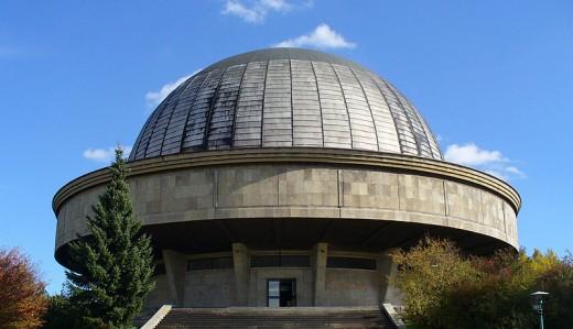 Silesian Planetarium in Chorzow