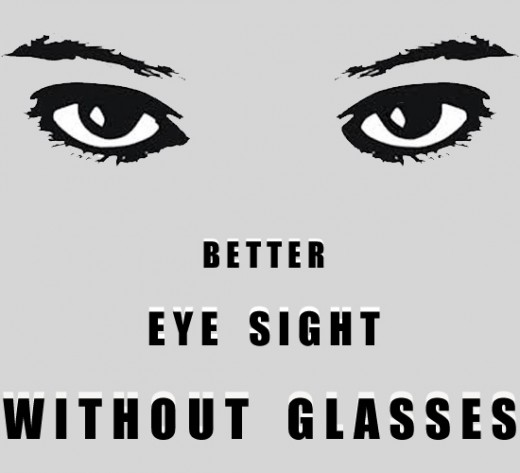 Healthy eyes are more likely to look good than the eyes of someone who wears glasses or is squinting in an effort to see what is going on.