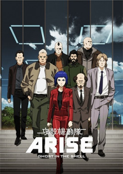 Review of Japanese Anime Ghost In The Shell: Arise - Border Pain