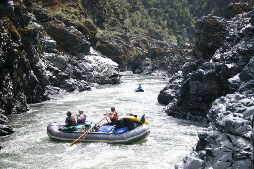Mule Creek Canyon in the Wild and Scenic Rogue River