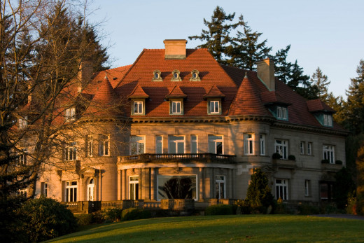 Tour Pittock Mansion in the West Hills above downtown