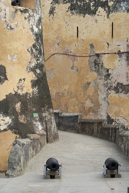 A Walkway in Fort Jesus