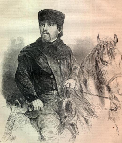 Union General Franz Sigel portrait