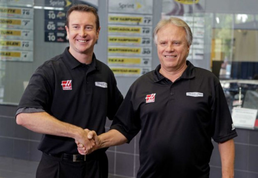 Gene Haas welcomes Kurt Busch to Stewart Haas Racing