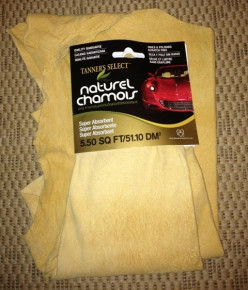 How to Care for Your Natural Chamois Leather Drying Cloth