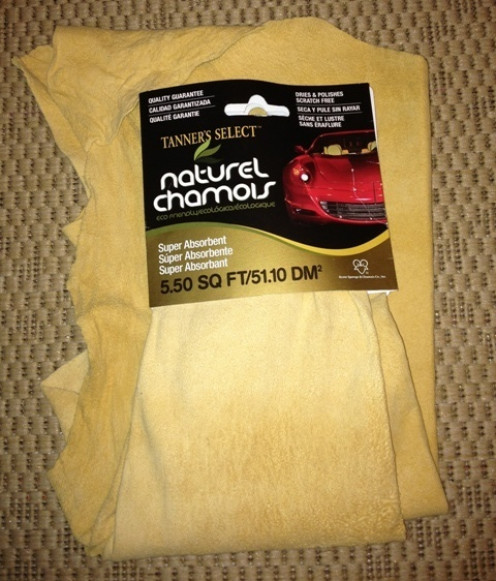 Genuine Sheepskin Chamois