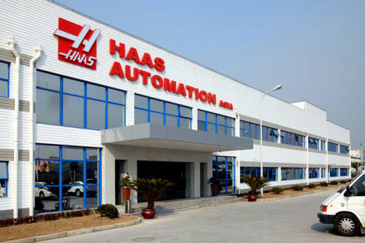 Haas Automation recently opened several shops overseas, indicating that business is good