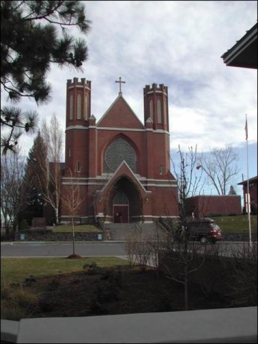 St Francis Church in Dalhousie