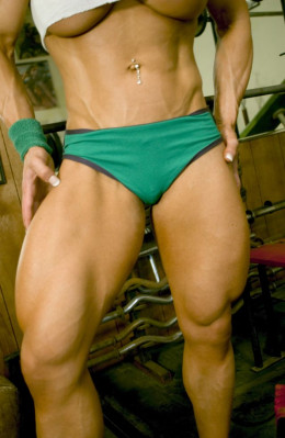 how to develop big legs