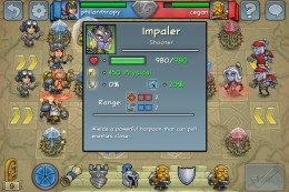 Impaler health fully upgraded - still not too good. With a potion it would be 1030.