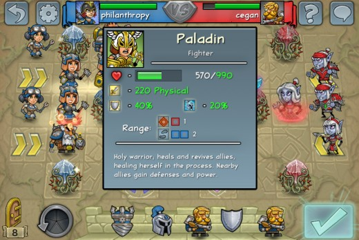 Standing next to the other Paladins and wearing armor, this Paladin has a total  physical damage resistance of 40%!