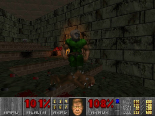 The player can execute fatalities on enemies while in berserk mode and using his fists.