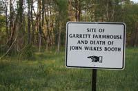 Garrett Farm Marker